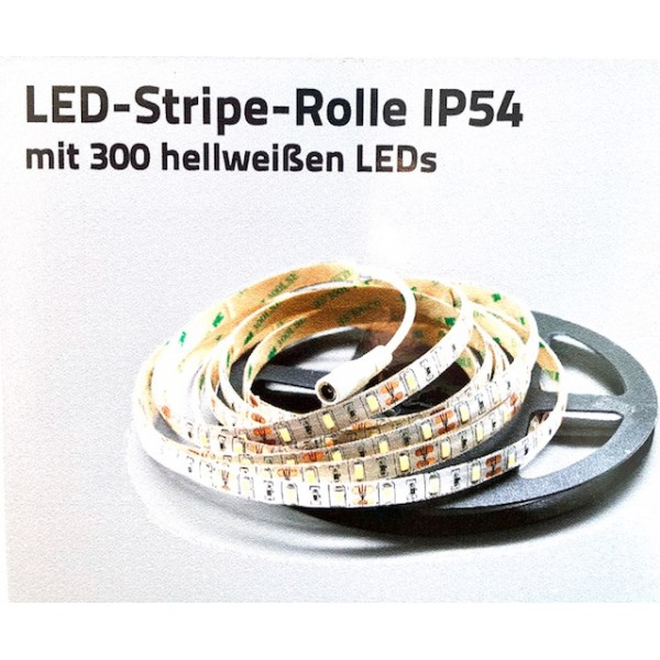 LED-Stripes-Rolle dimmbar 12V 24W 5M