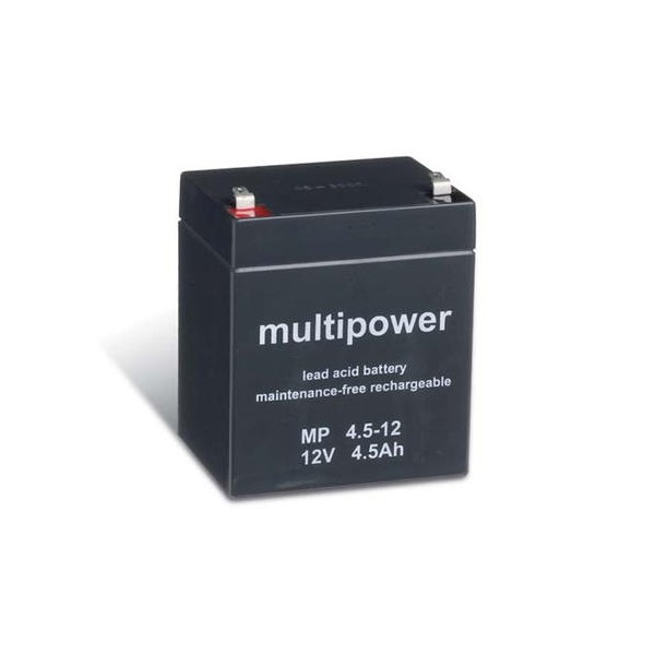 Bleiakku Multipower 12V 4,5Ah